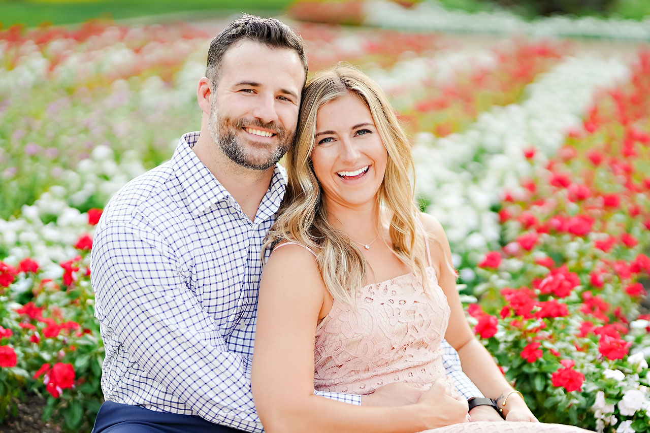 Kendall Jake Downtown Indianapolis Engagement Session 054