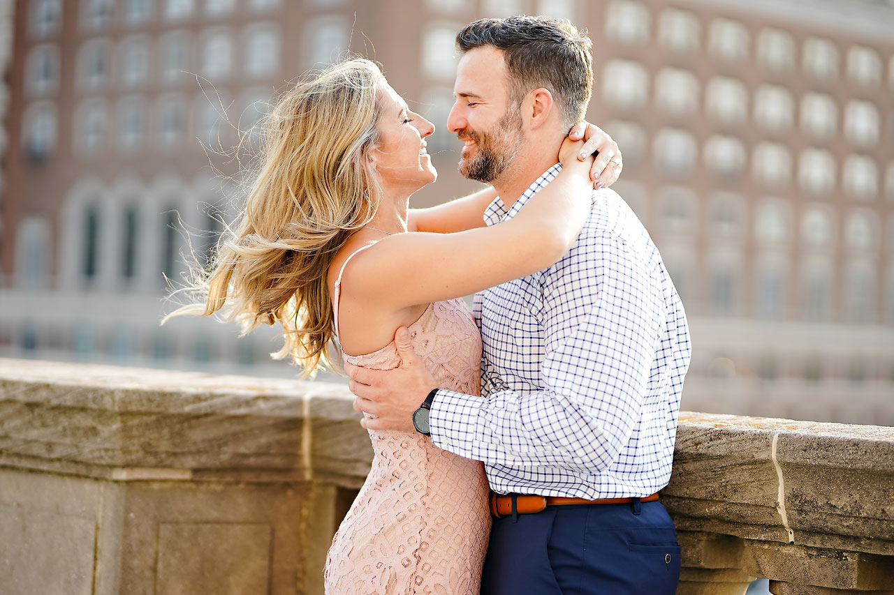 Kendall Jake Downtown Indianapolis Engagement Session 055
