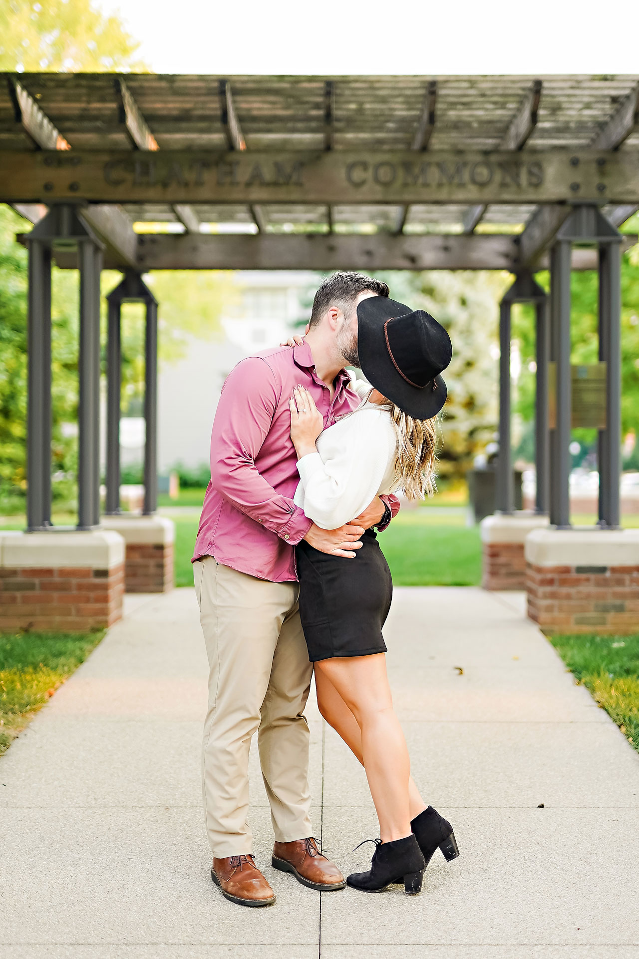 Kendall Jake Downtown Indianapolis Engagement Session 059