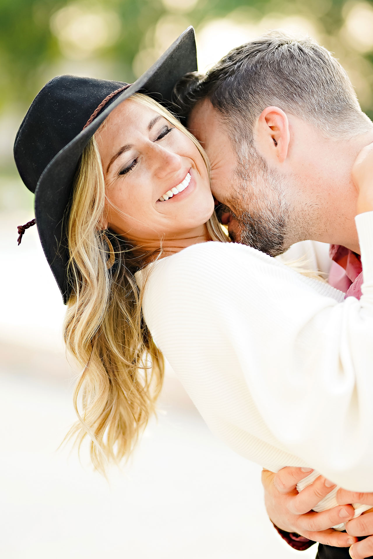 Kendall Jake Downtown Indianapolis Engagement Session 062