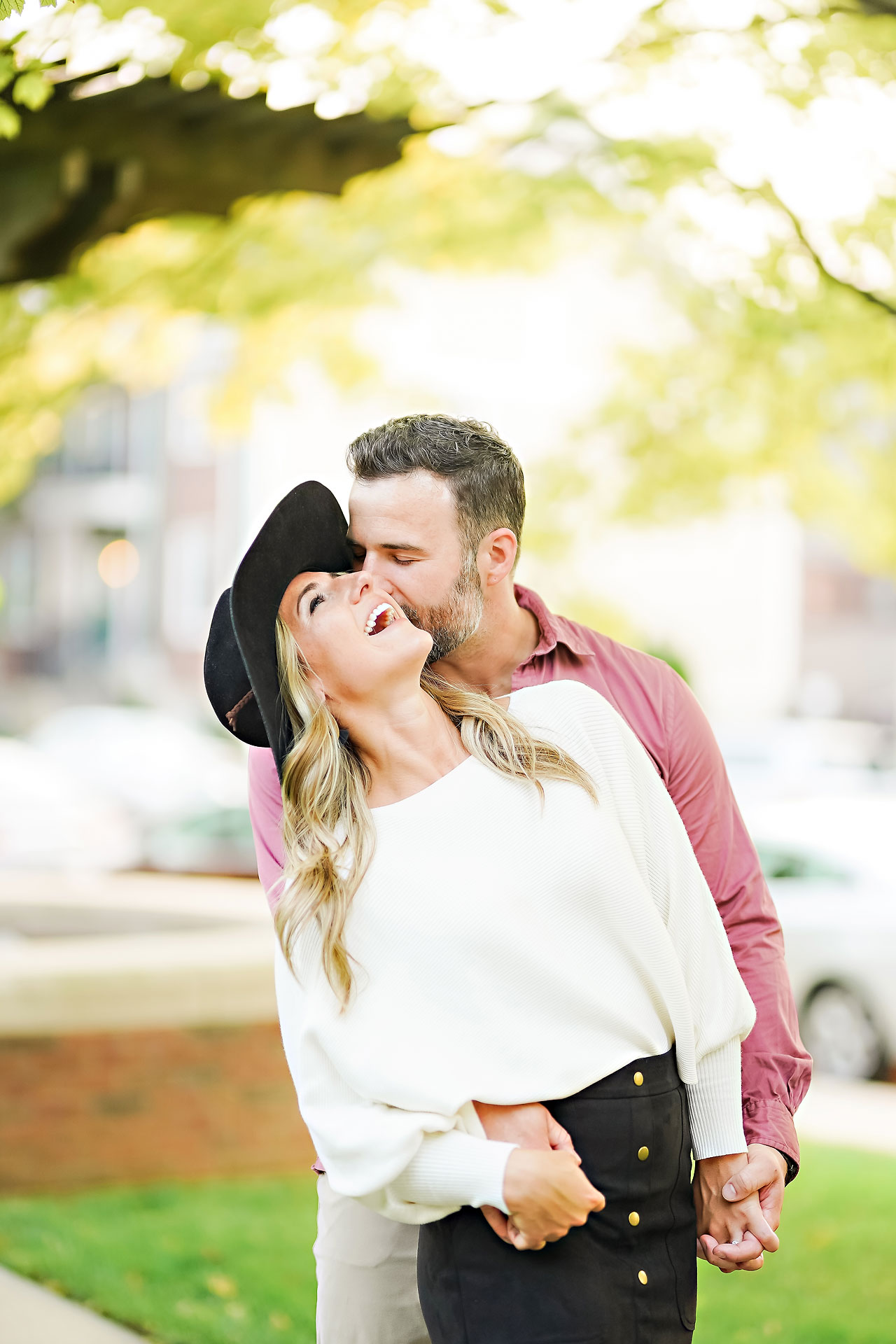 Kendall Jake Downtown Indianapolis Engagement Session 064