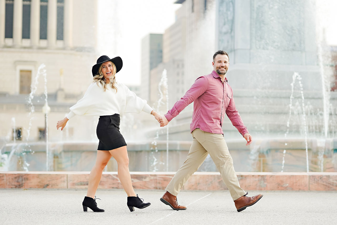Kendall Jake Downtown Indianapolis Engagement Session 065