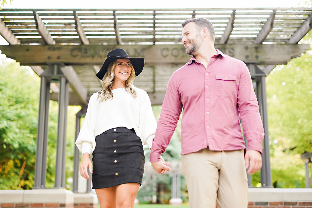 Kendall Jake Downtown Indianapolis Engagement Session 068
