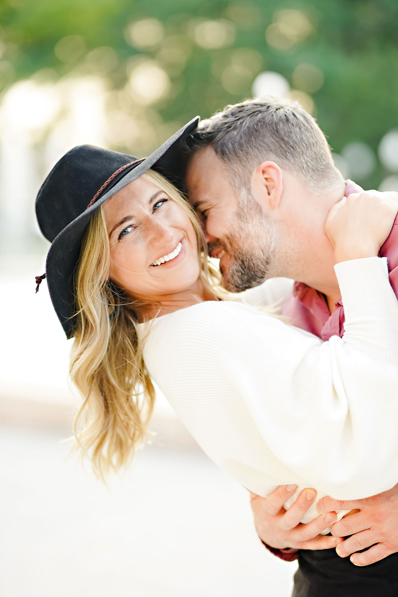Kendall Jake Downtown Indianapolis Engagement Session 071
