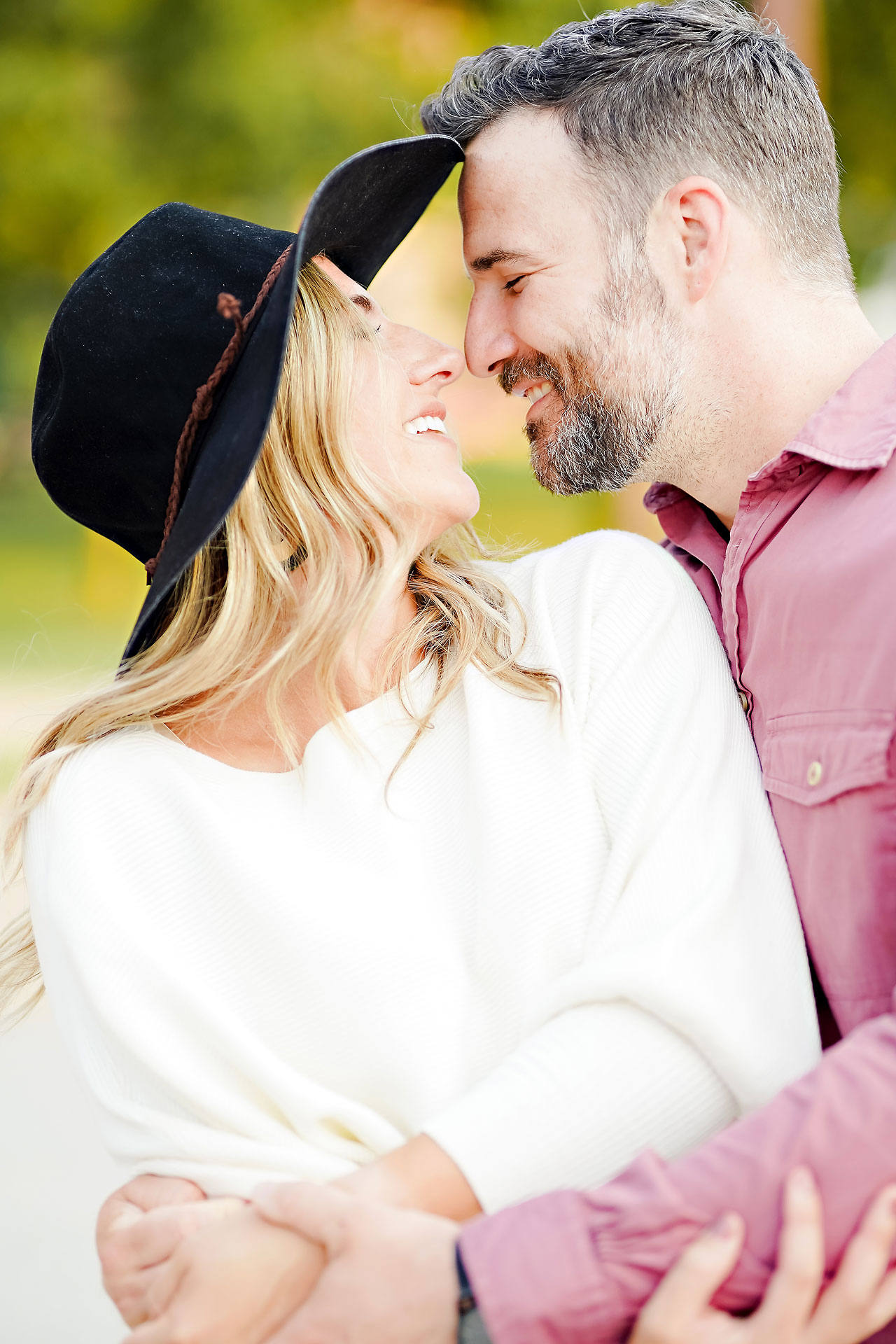Kendall Jake Downtown Indianapolis Engagement Session 076