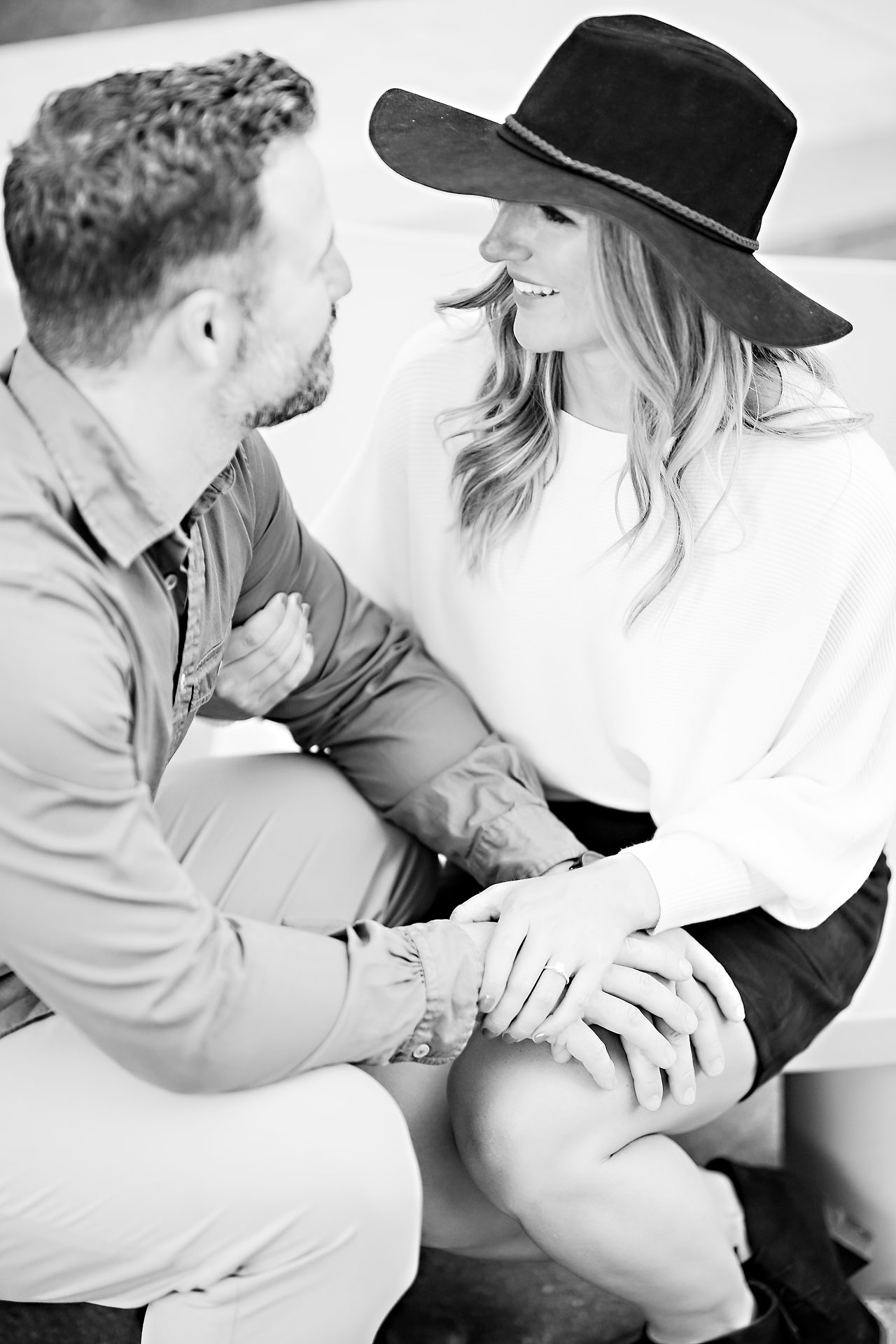 Kendall Jake Downtown Indianapolis Engagement Session 078