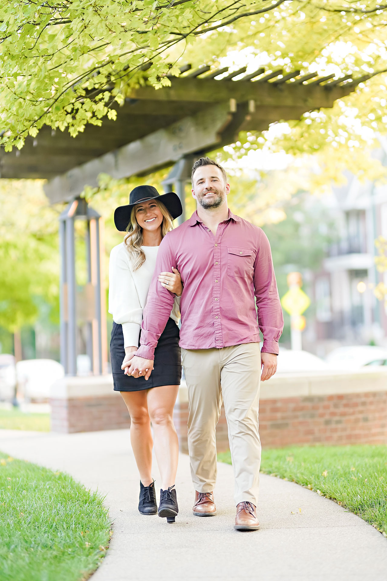 Kendall Jake Downtown Indianapolis Engagement Session 080