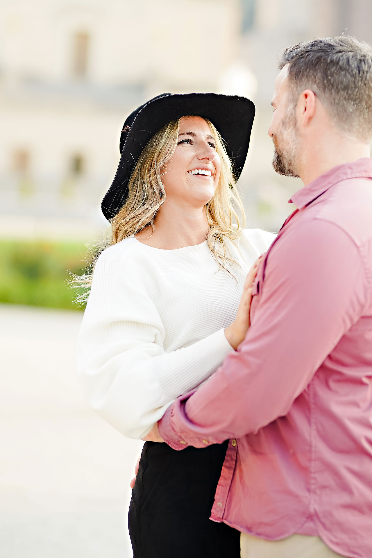 Kendall Jake Downtown Indianapolis Engagement Session 081