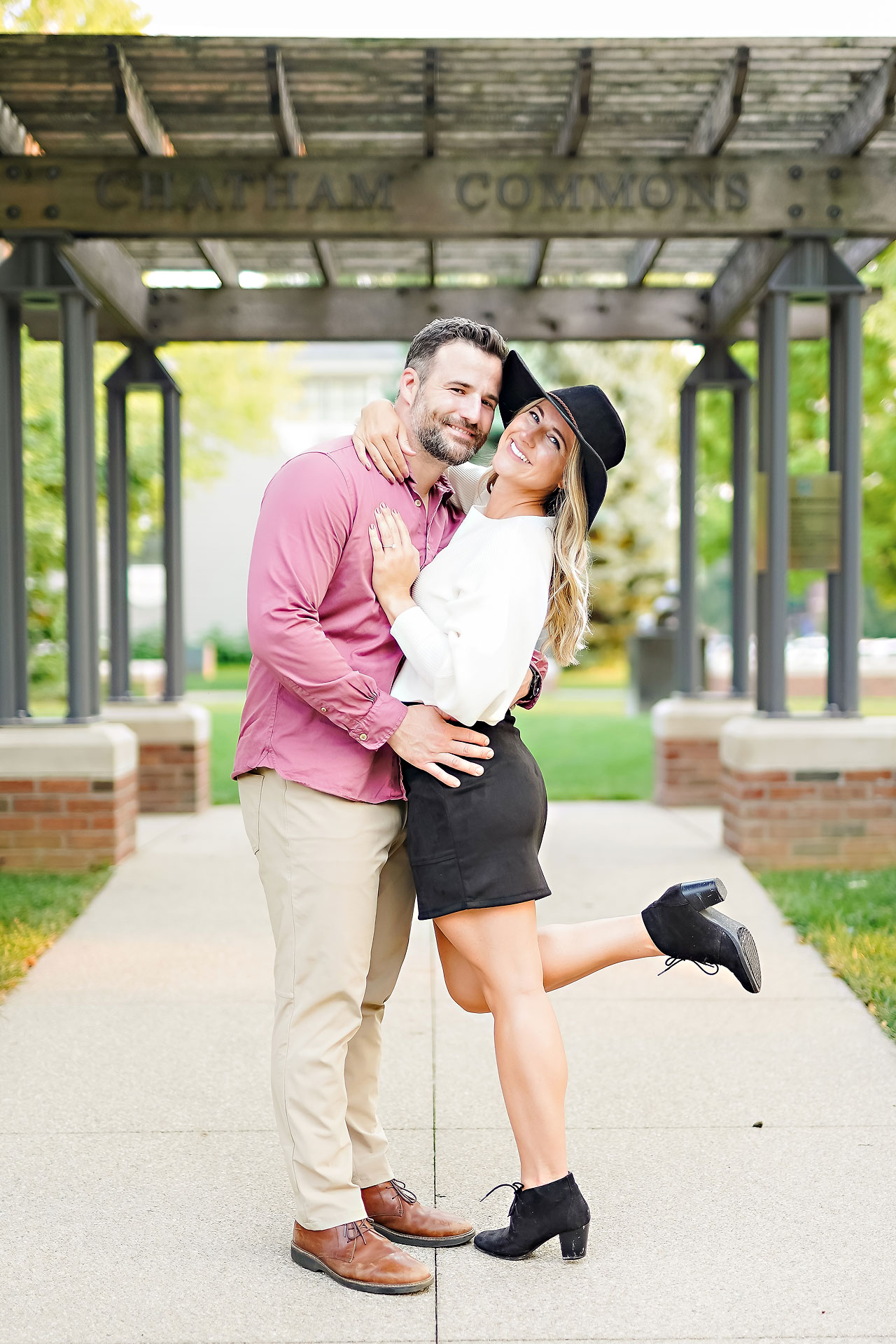 Kendall Jake Downtown Indianapolis Engagement Session 082