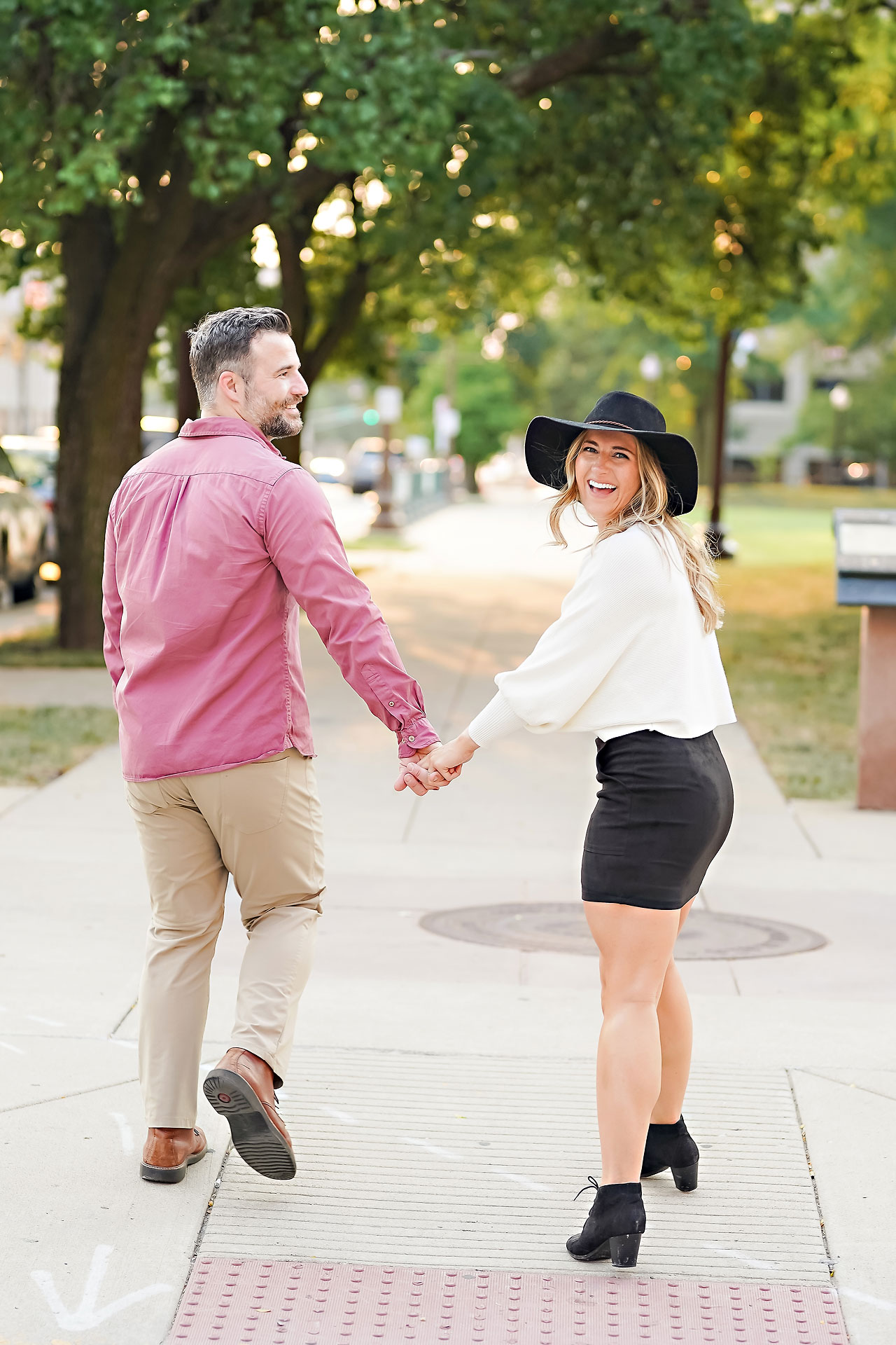 Kendall Jake Downtown Indianapolis Engagement Session 089