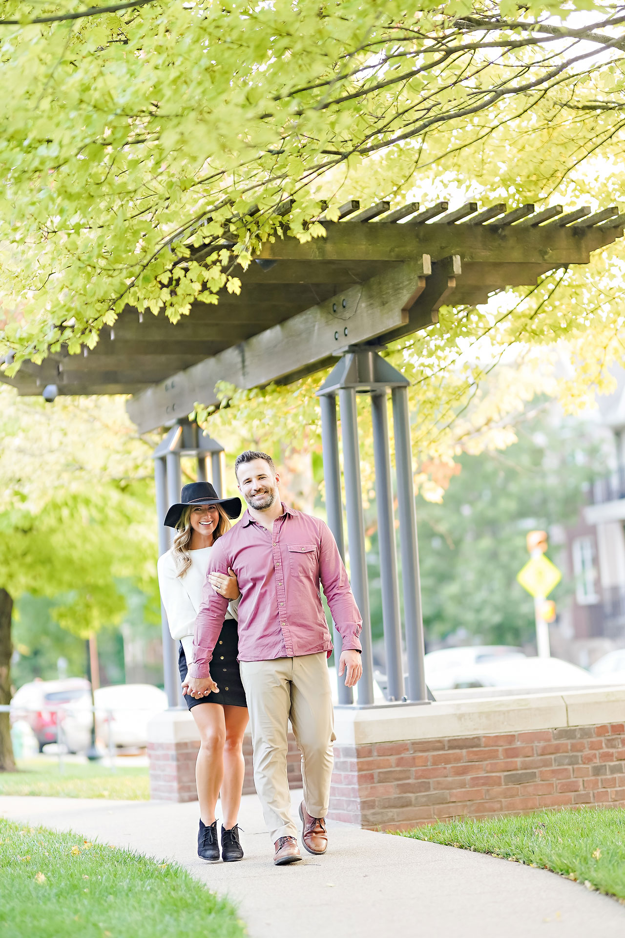 Kendall Jake Downtown Indianapolis Engagement Session 094