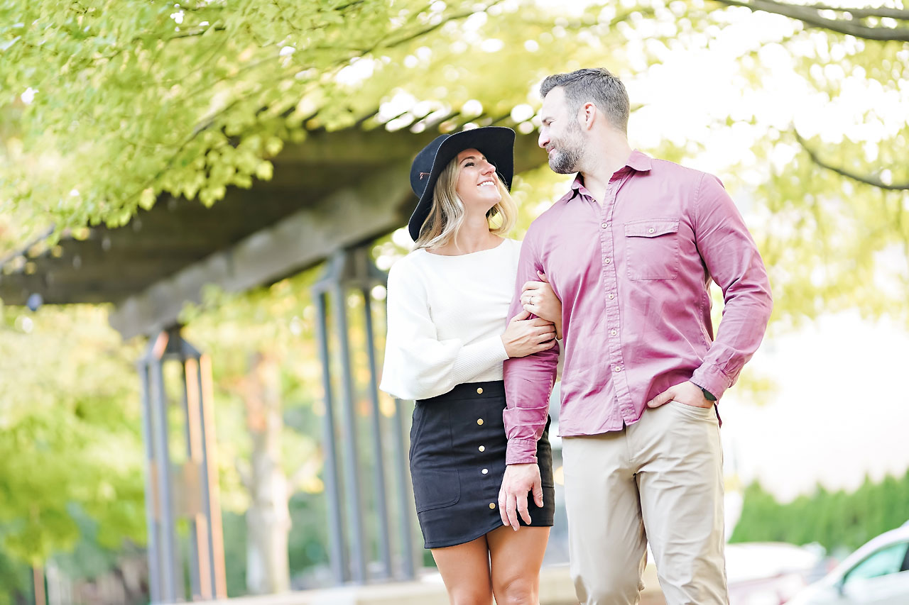 Kendall Jake Downtown Indianapolis Engagement Session 096