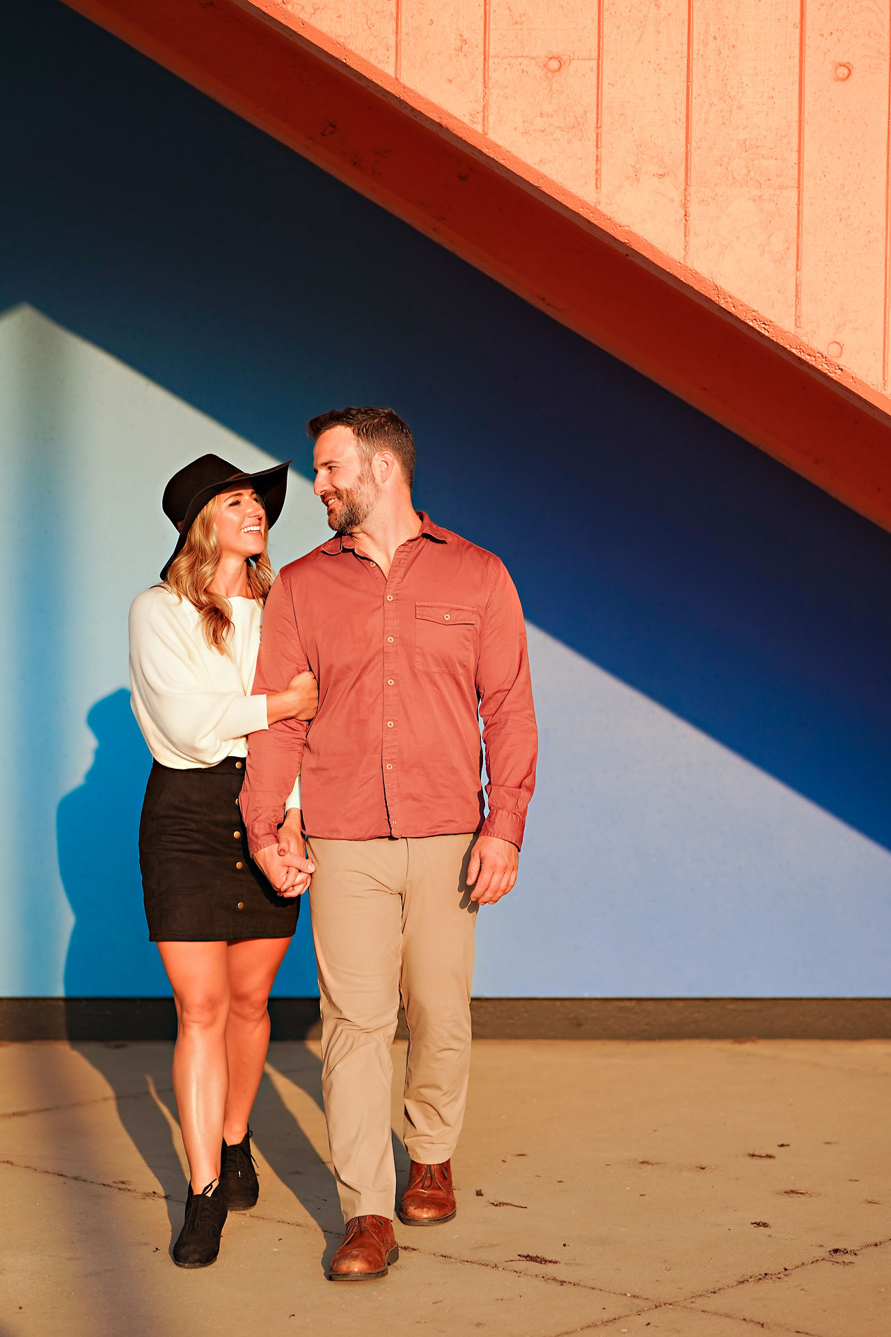 Kendall Jake Downtown Indianapolis Engagement Session 103