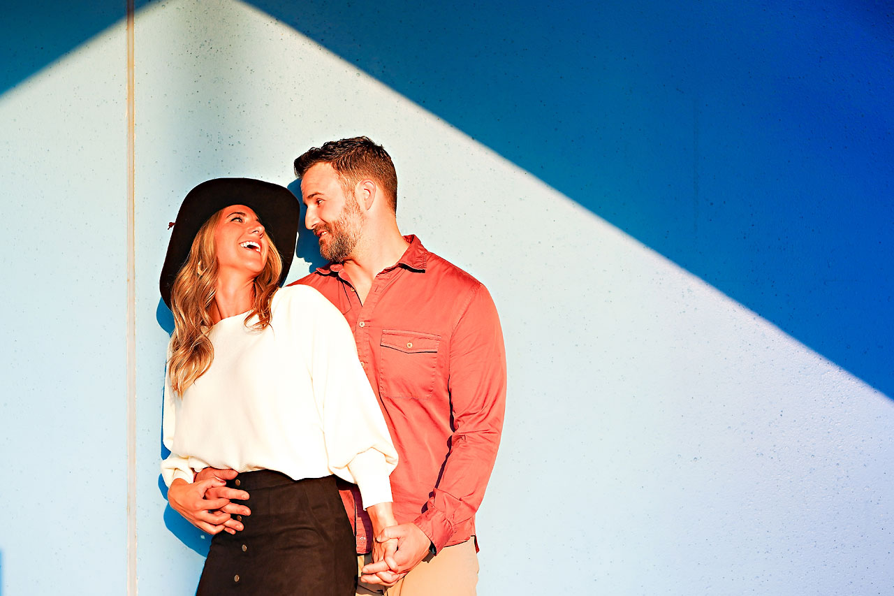 Kendall Jake Downtown Indianapolis Engagement Session
