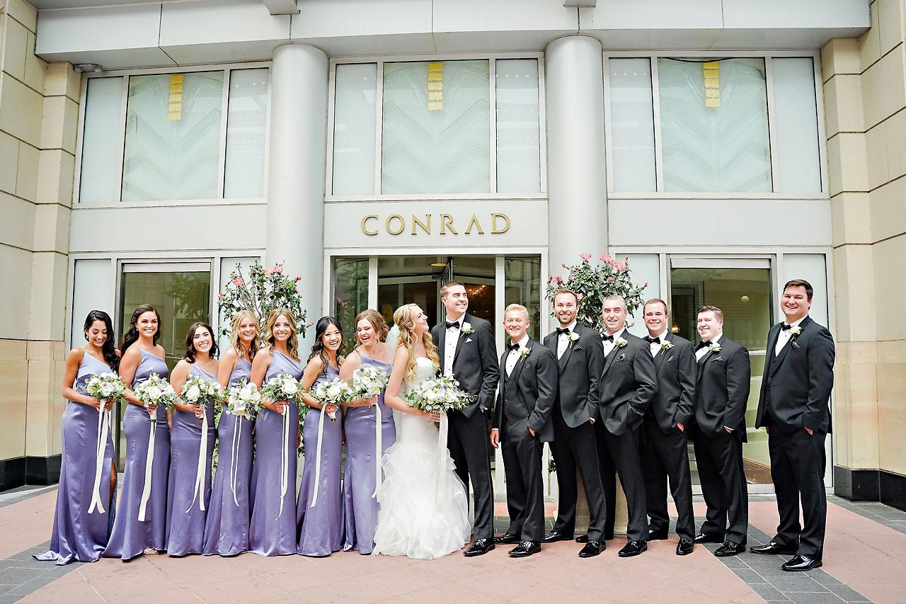 Liz Zach Conrad Artsgarden Indianapolis Wedding 041
