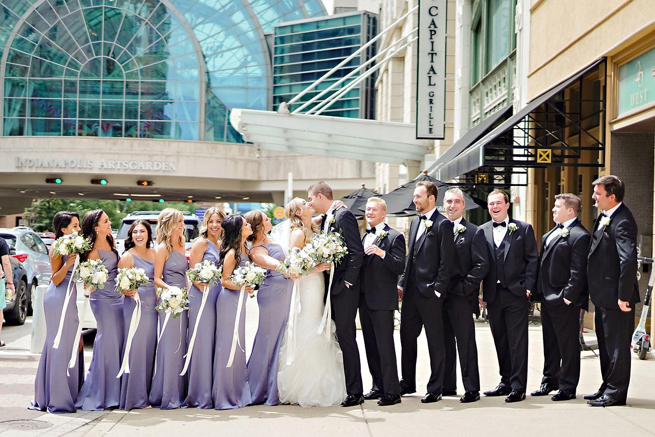 Liz Zach Conrad Artsgarden Indianapolis Wedding 052