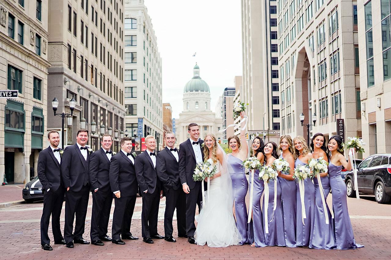 Liz Zach Conrad Artsgarden Indianapolis Wedding 057