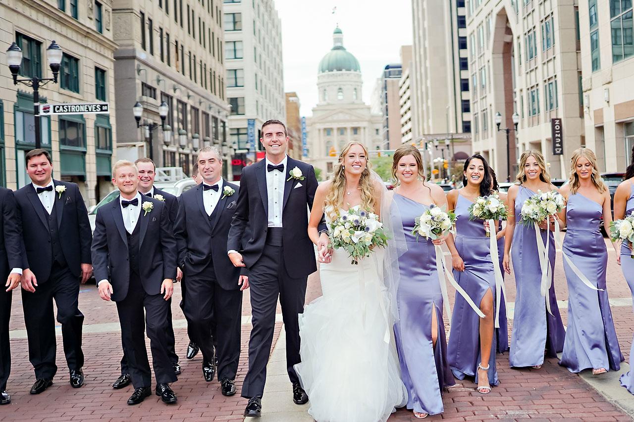 Liz Zach Conrad Artsgarden Indianapolis Wedding 075