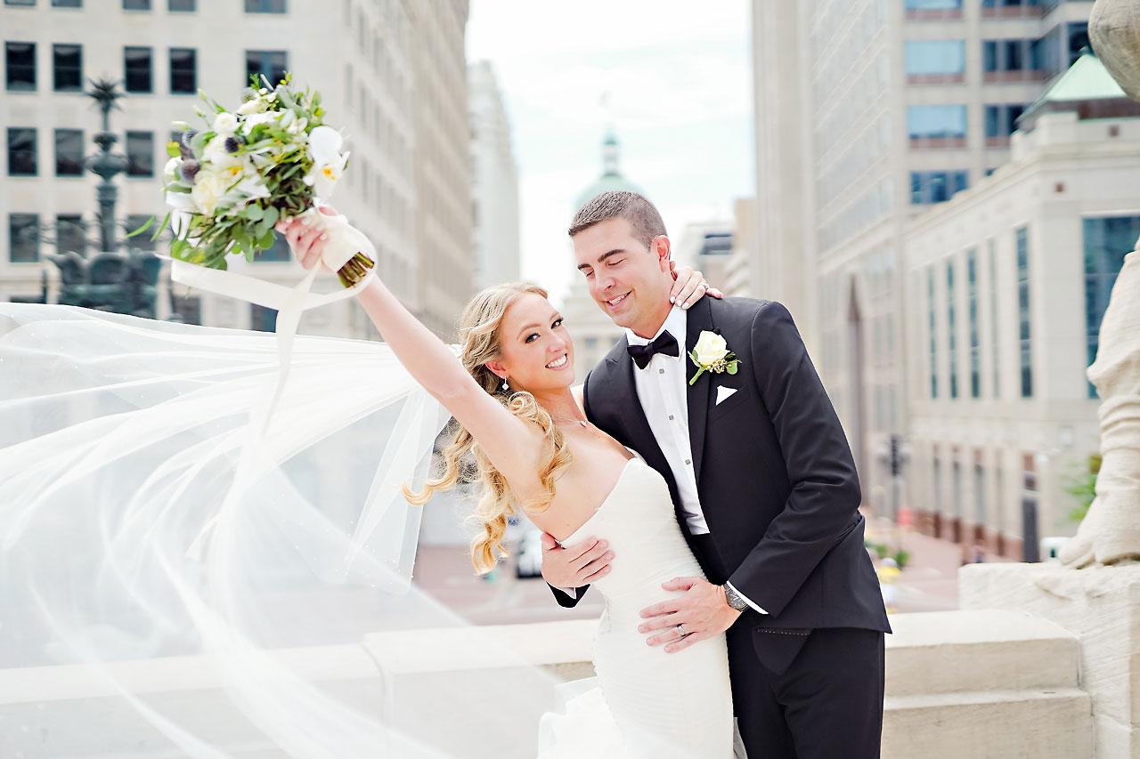 Liz Zach Conrad Artsgarden Indianapolis Wedding 076