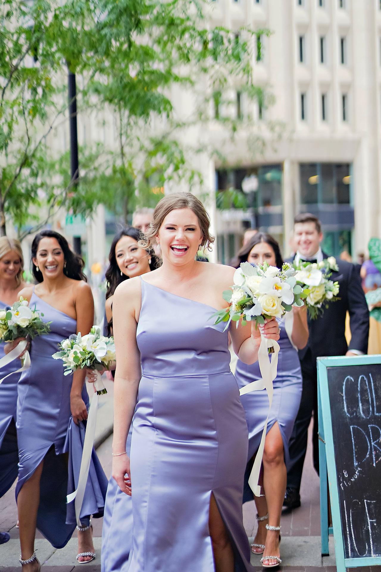 Liz Zach Conrad Artsgarden Indianapolis Wedding 087