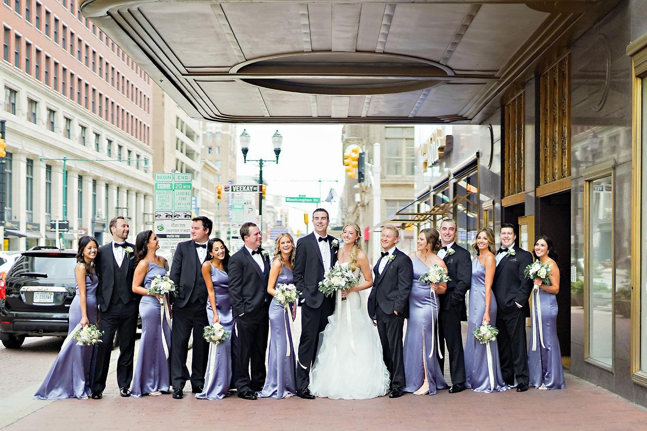Liz Zach Conrad Artsgarden Indianapolis Wedding 093