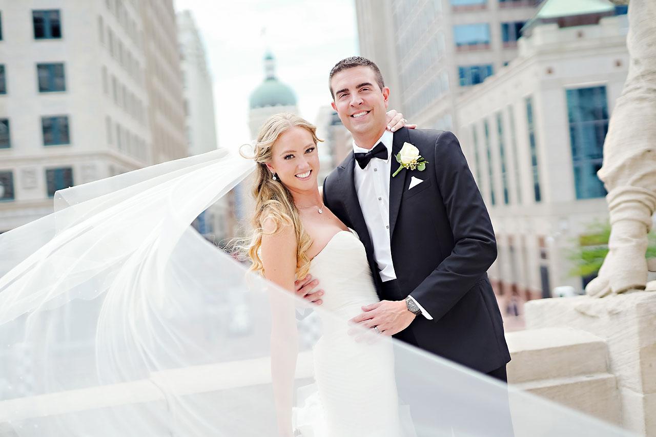 Liz Zach Conrad Artsgarden Indianapolis Wedding 096
