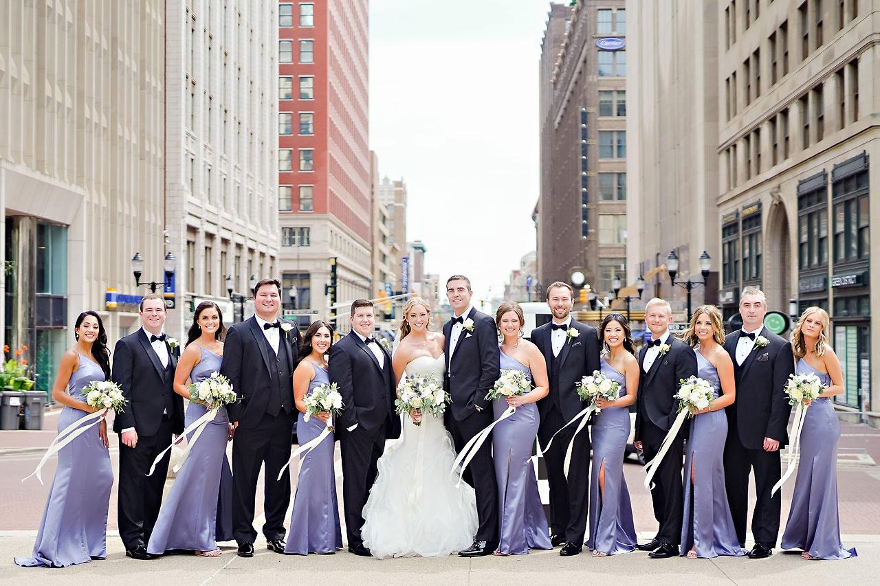 Liz Zach Conrad Artsgarden Indianapolis Wedding 097