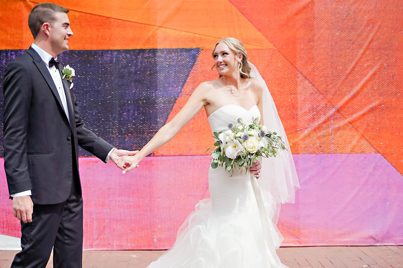 Liz Zach Conrad Artsgarden Indianapolis Wedding 098