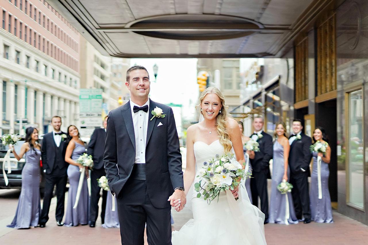 Liz Zach Conrad Artsgarden Indianapolis Wedding 099