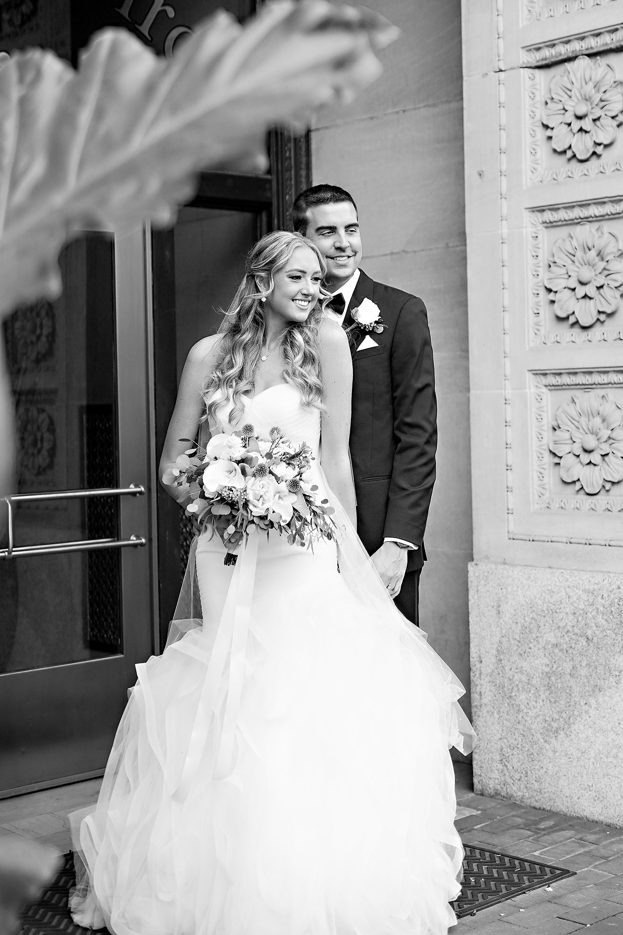 Liz Zach Conrad Artsgarden Indianapolis Wedding 113