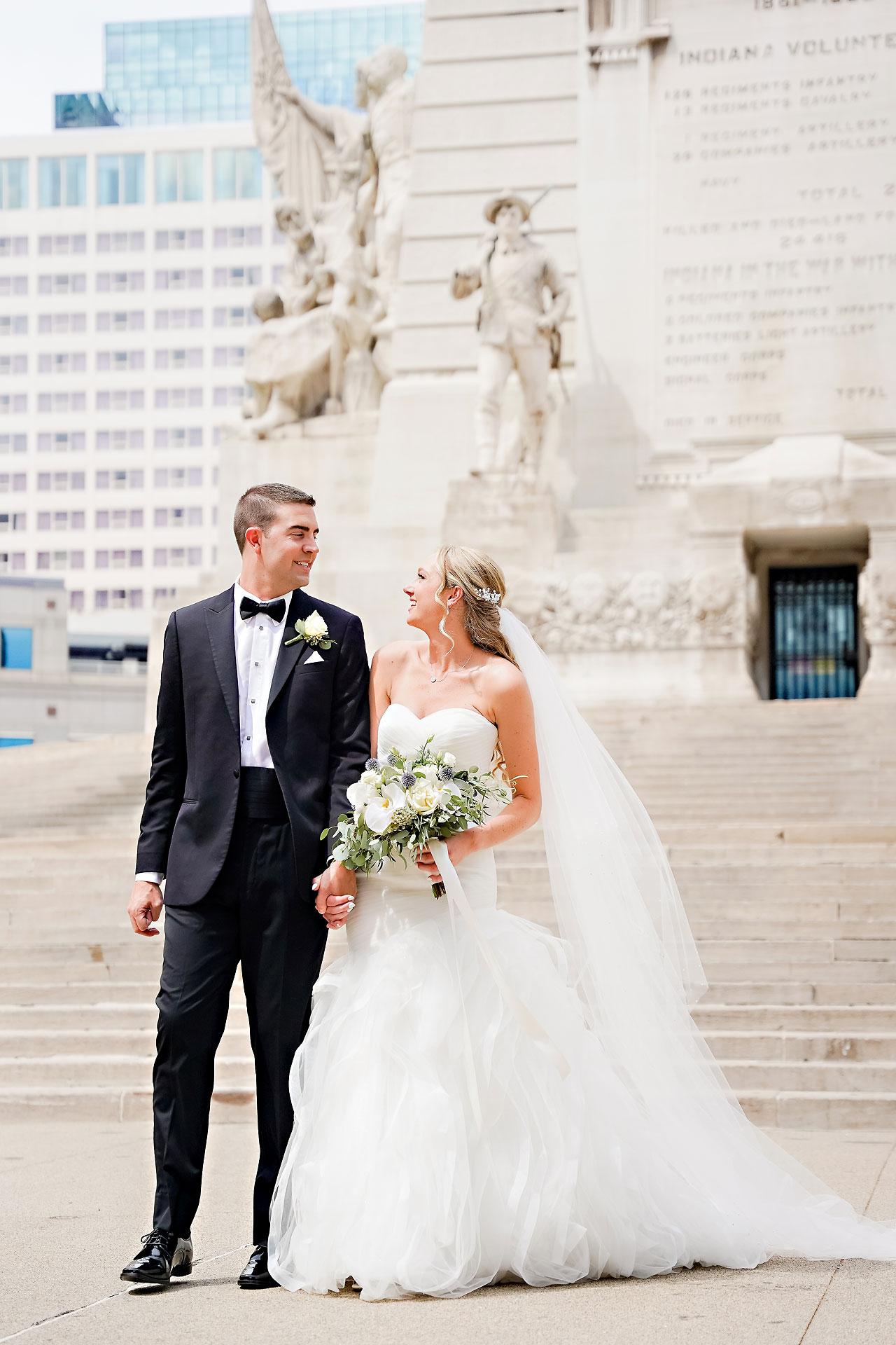 Liz Zach Conrad Artsgarden Indianapolis Wedding 115