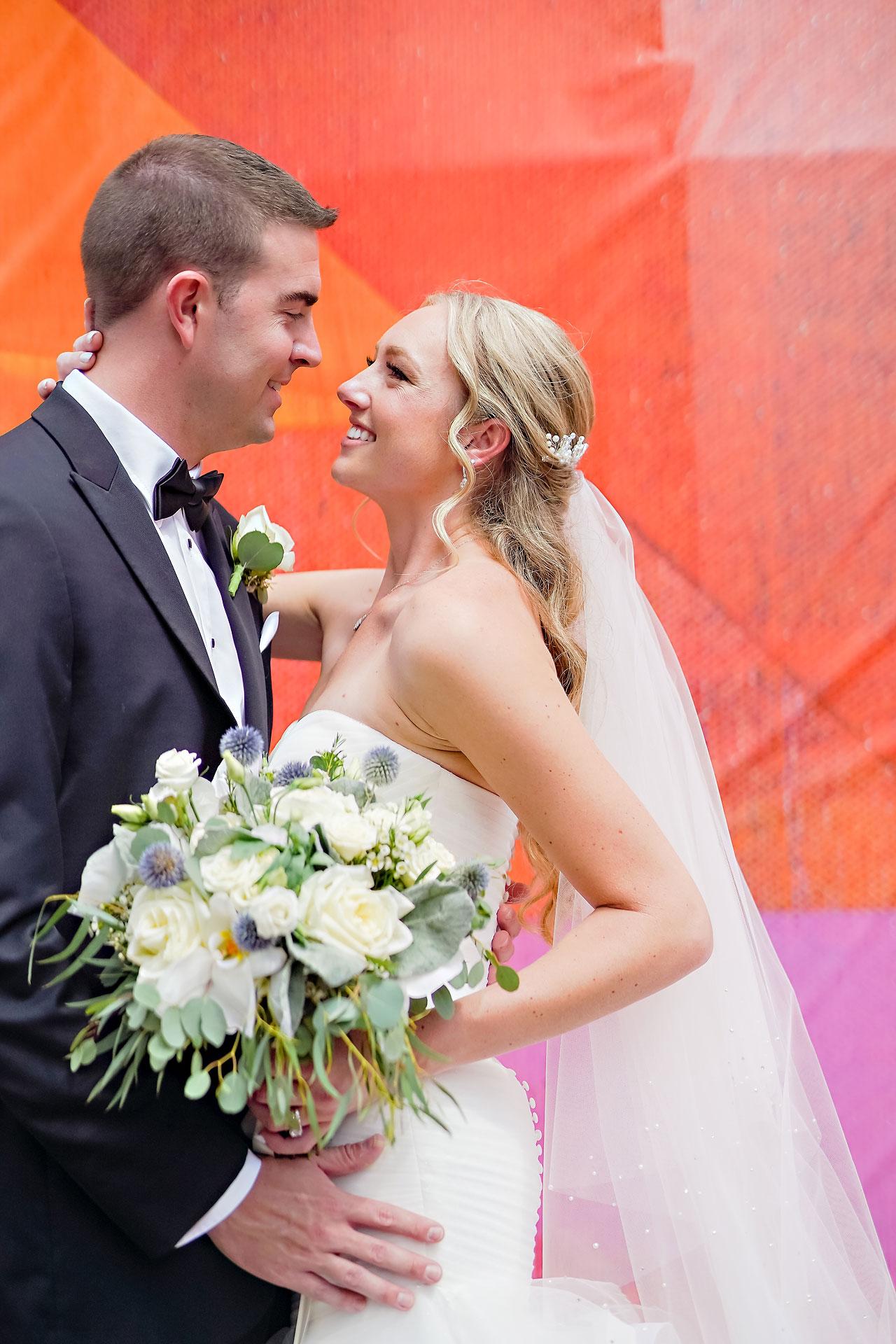 Liz Zach Conrad Artsgarden Indianapolis Wedding 116