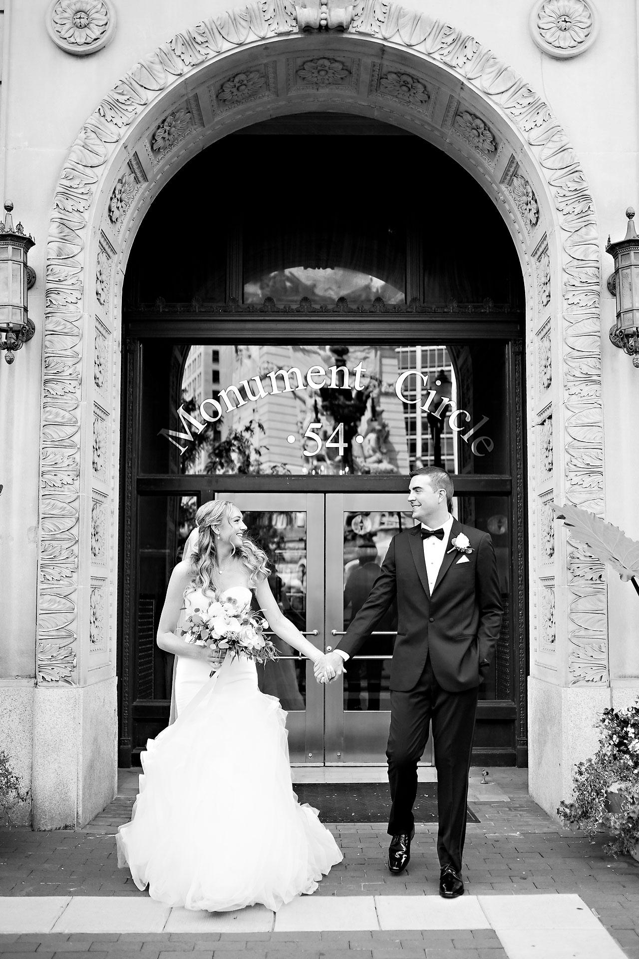 Liz Zach Conrad Artsgarden Indianapolis Wedding 117