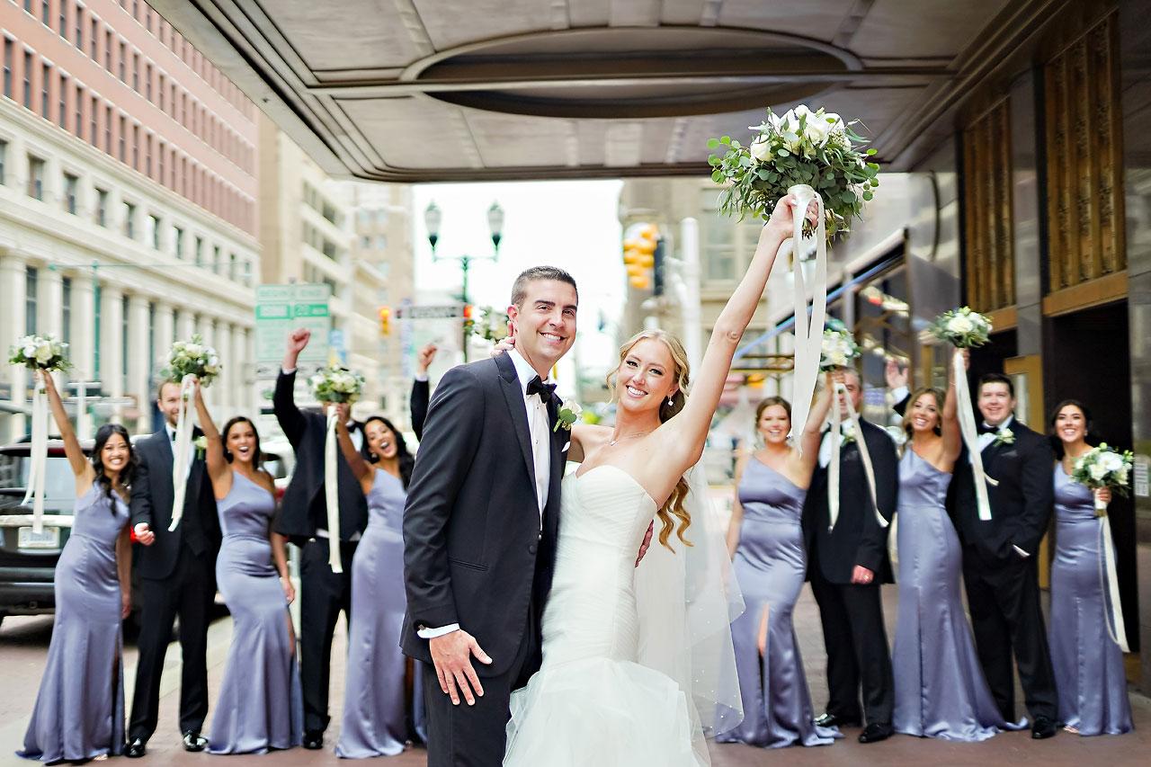 Liz Zach Conrad Artsgarden Indianapolis Wedding