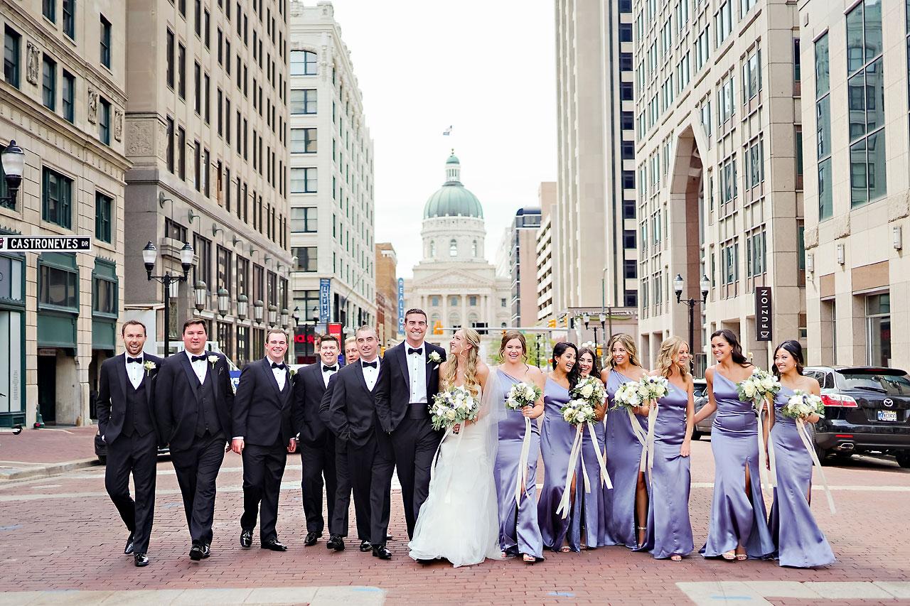 Liz Zach Conrad Artsgarden Indianapolis Wedding 123
