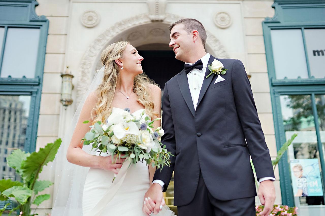 Liz Zach Conrad Artsgarden Indianapolis Wedding 124