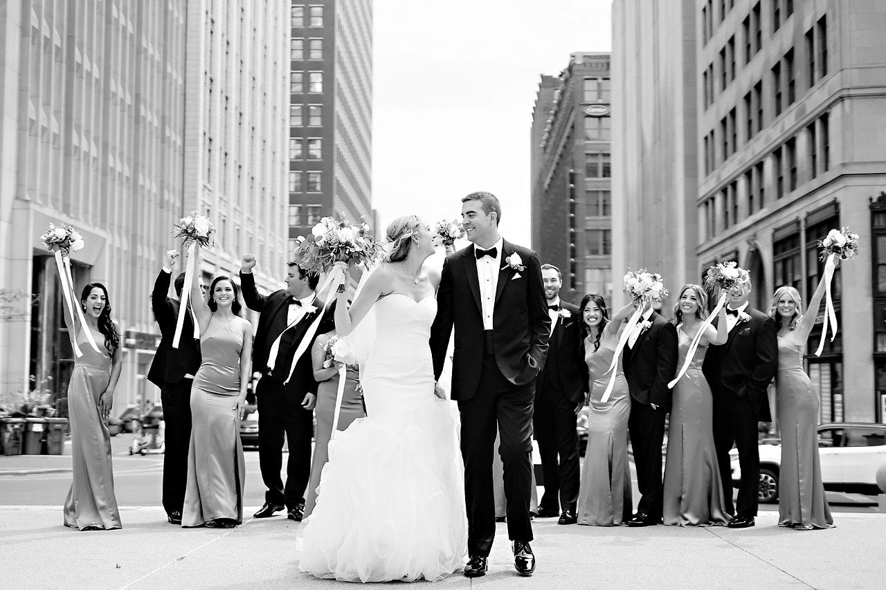 Liz Zach Conrad Artsgarden Indianapolis Wedding 126