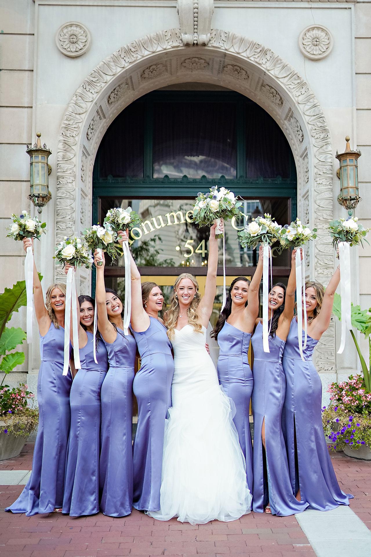 Liz Zach Conrad Artsgarden Indianapolis Wedding 129