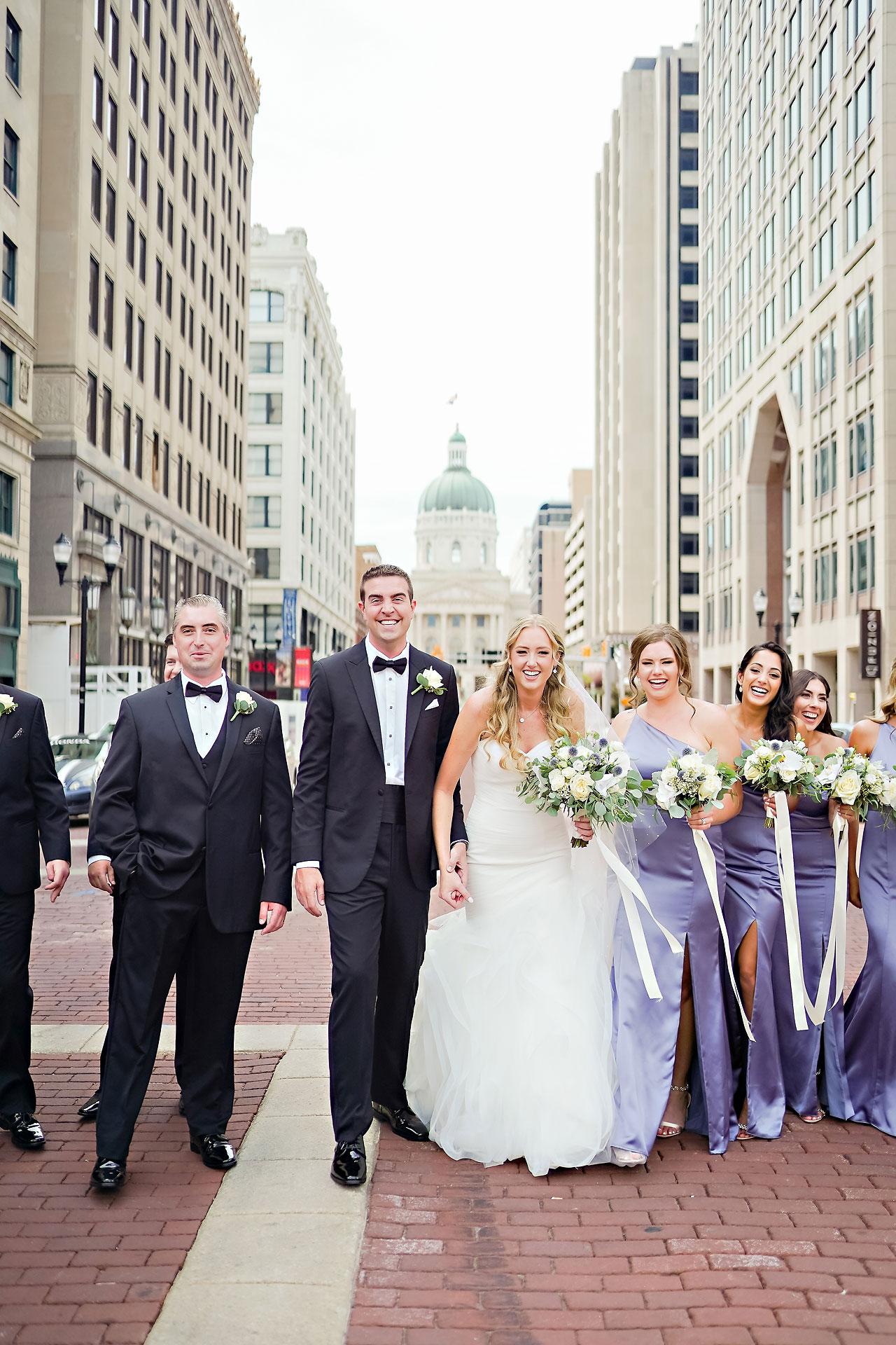 Liz Zach Conrad Artsgarden Indianapolis Wedding 132