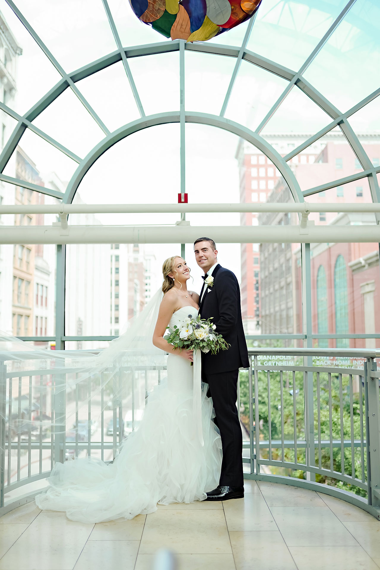 Liz Zach Conrad Artsgarden Indianapolis Wedding 137