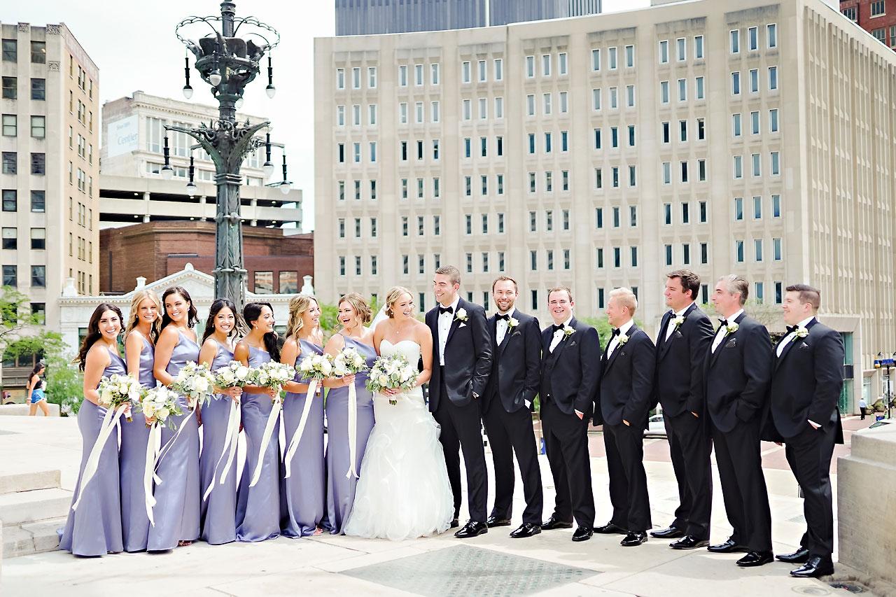 Liz Zach Conrad Artsgarden Indianapolis Wedding 140