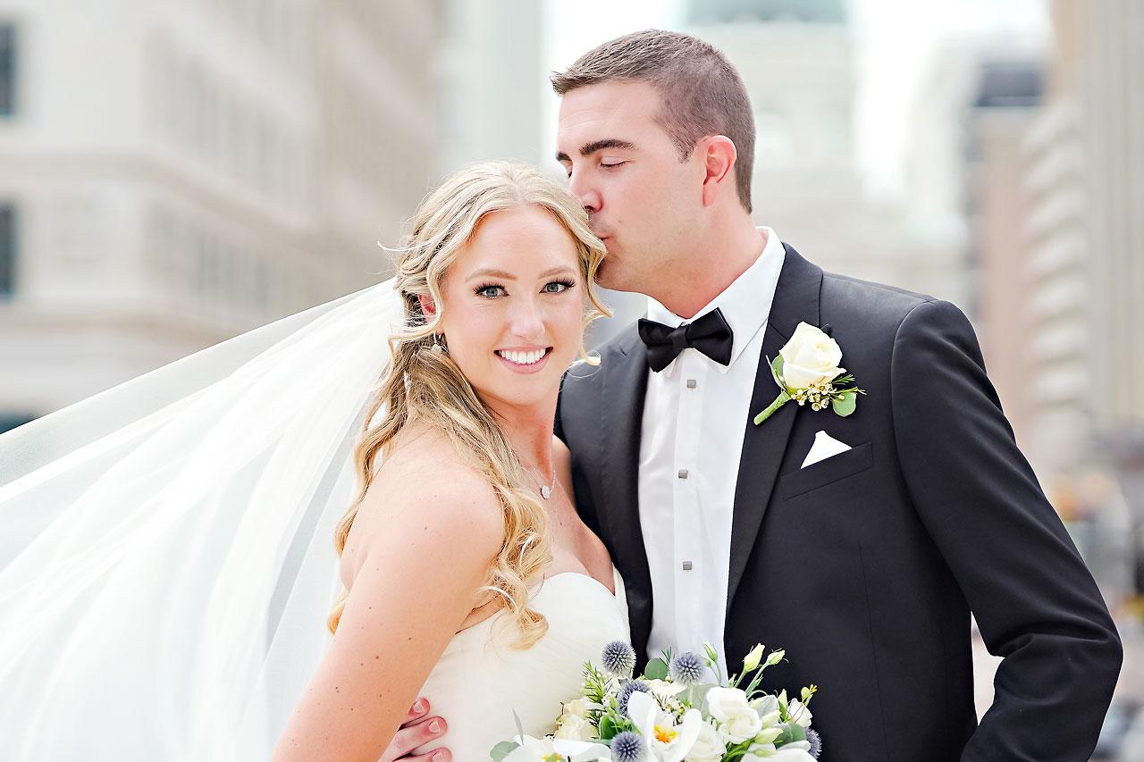 Liz Zach Conrad Artsgarden Indianapolis Wedding 141