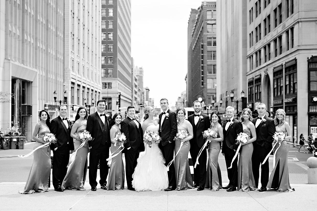 Liz Zach Conrad Artsgarden Indianapolis Wedding 142