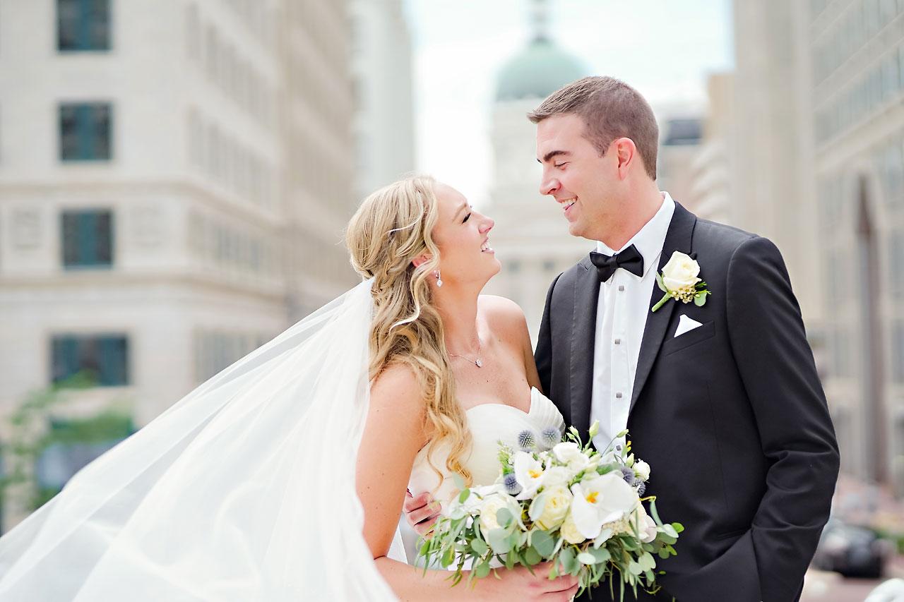 Liz Zach Conrad Artsgarden Indianapolis Wedding 143