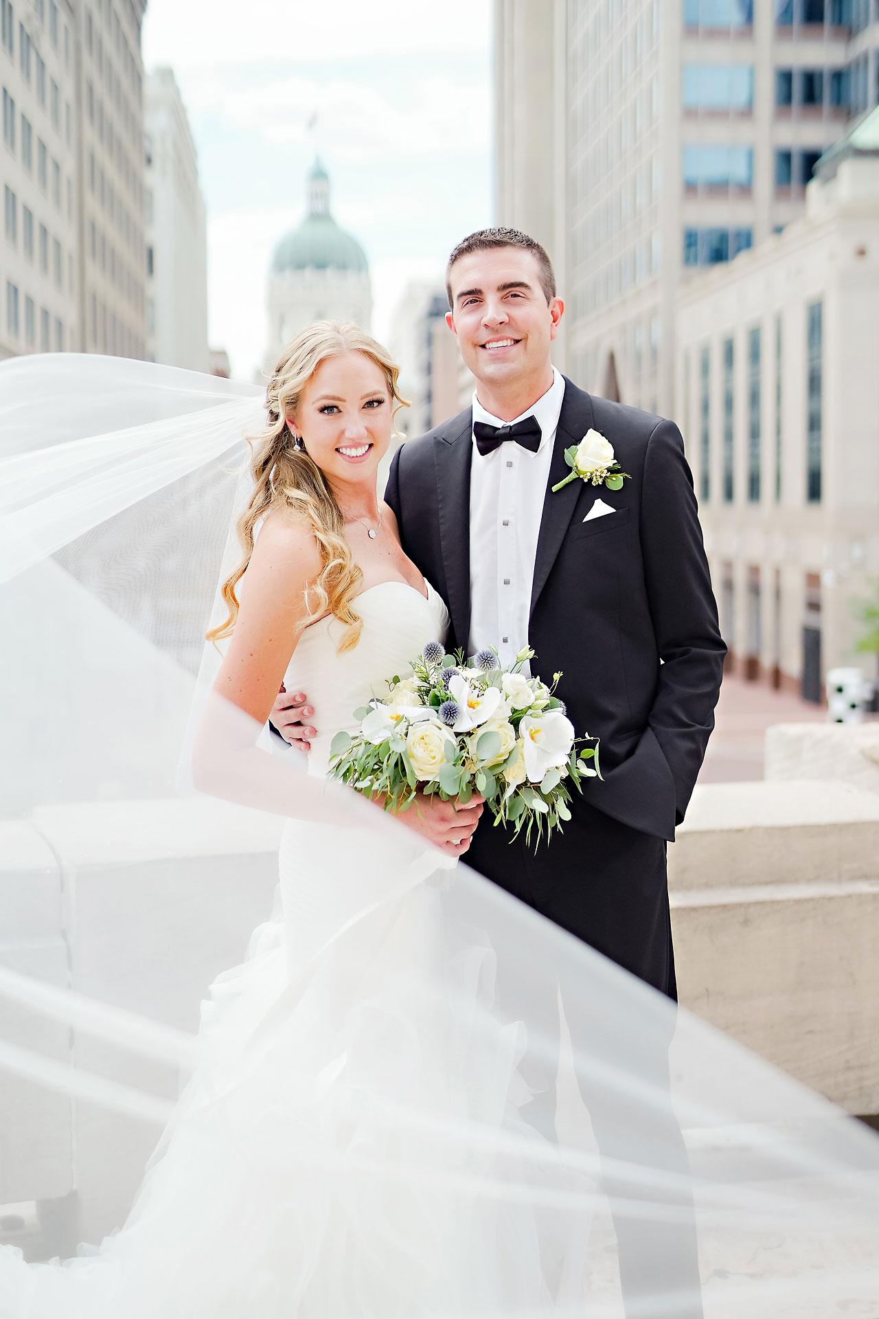 Liz Zach Conrad Artsgarden Indianapolis Wedding 149