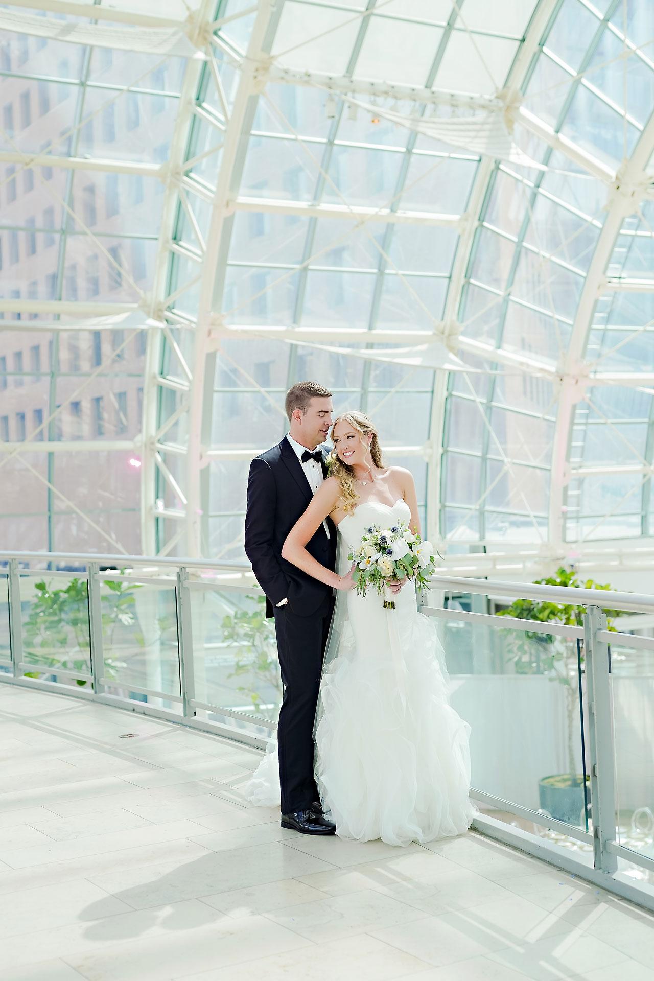 Liz Zach Conrad Artsgarden Indianapolis Wedding 154