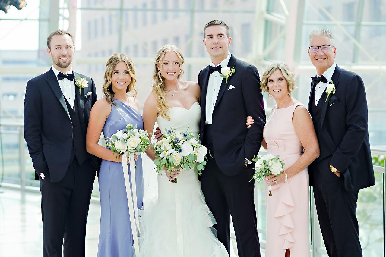 Liz Zach Conrad Artsgarden Indianapolis Wedding 163