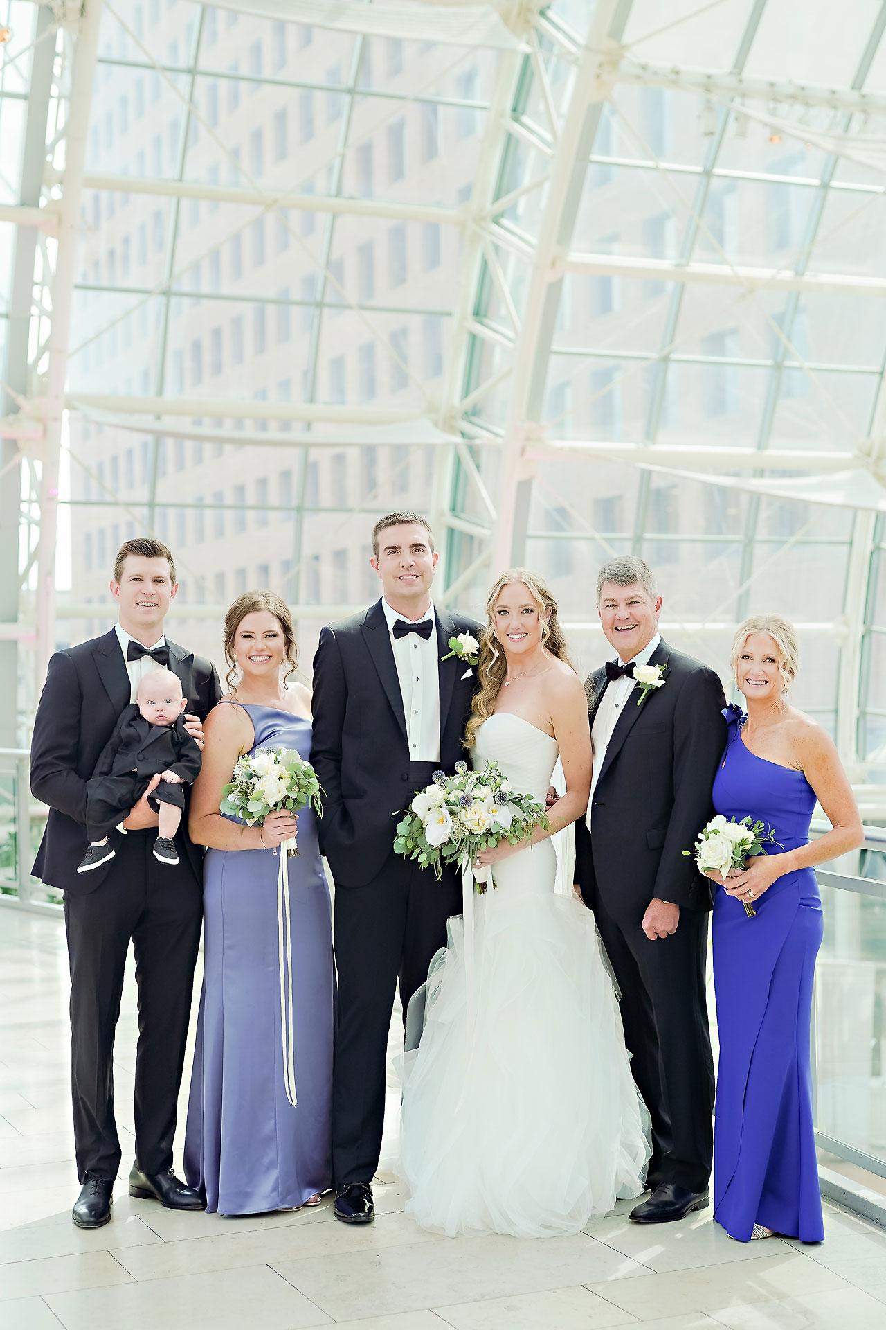 Liz Zach Conrad Artsgarden Indianapolis Wedding 167
