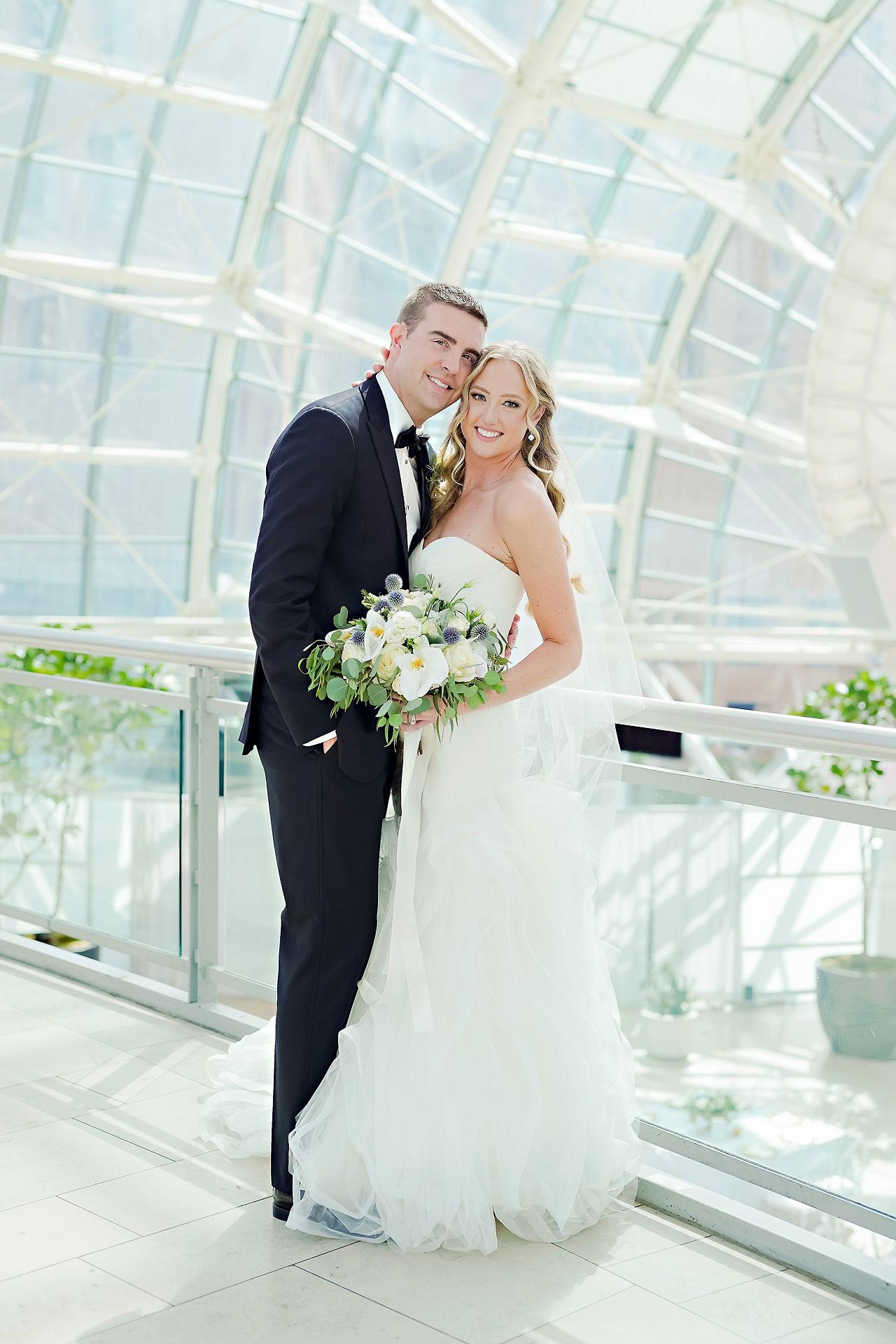 Liz Zach Conrad Artsgarden Indianapolis Wedding 171