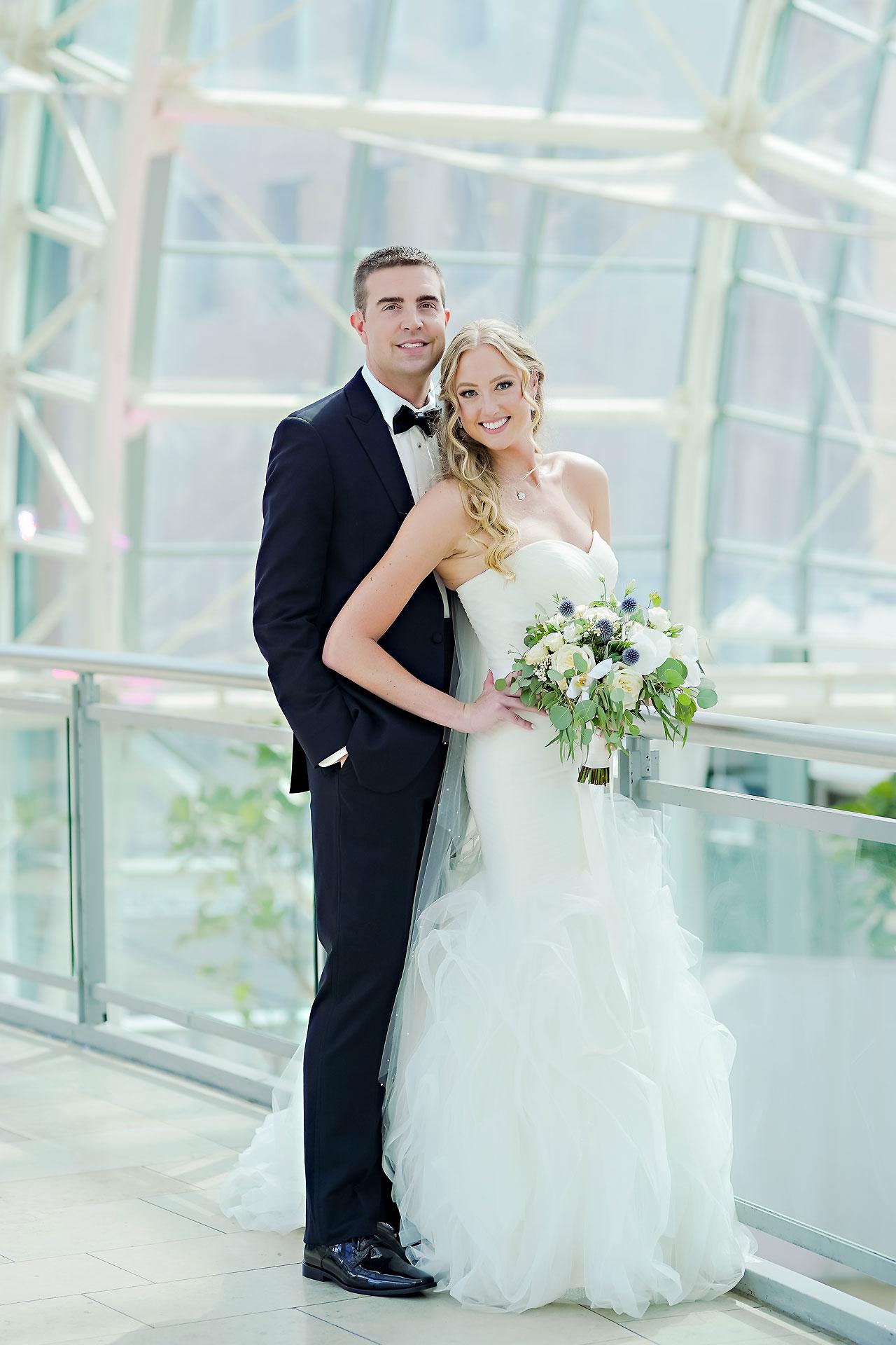 Liz Zach Conrad Artsgarden Indianapolis Wedding 175